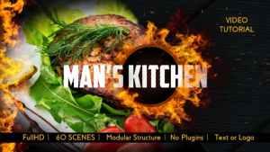 Men's Kitchen Menu
