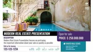 Modern Real Estate Presentation