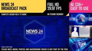 News 24 (Broadcast Pack)