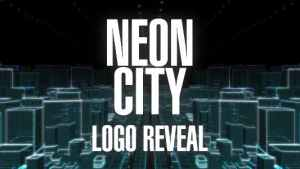 Neon City Logo Reveal