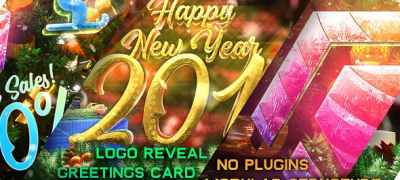 New Year Pack - Logo Reveal, Sale and Event Promo