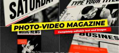 Photo and Video - Magazine Cover