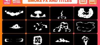 Hand Drawn Smoke FX and Titles