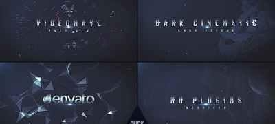 Dark Logo Reveal