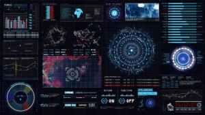 Sci-fi Interface HUD