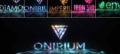 Gems & Lights - Gemstones Logo Reveal Pack