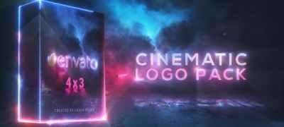 Cinematic Saber Logo Pack