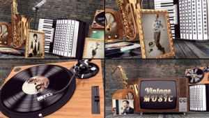 Vintage Music Opener