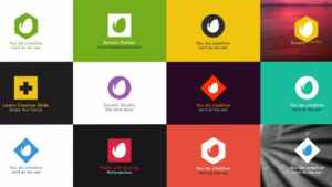 Simple Folding Logo