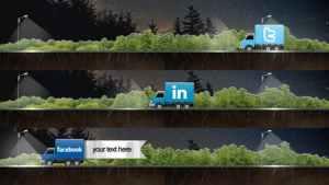 Social Truck Lower Third