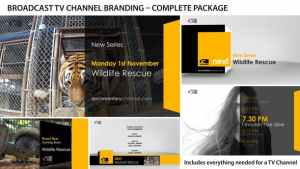 Broadcast Design - TV Channel Branding 1