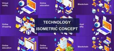 Technology - Isometric Concept