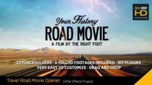 Travel Road Movie
