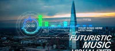 Futuristic Music Visual