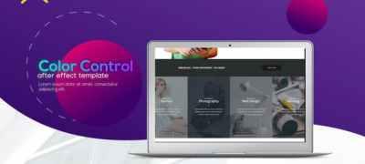 Trendy Minimalistic Web Promo
