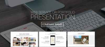 Web Service or Portfolio Presentation