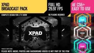 XPaD (Broadcast Pack)