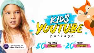 Kids Youtube Package | For Ae