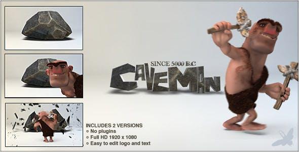 Download Caveman Logo – FREE Videohive