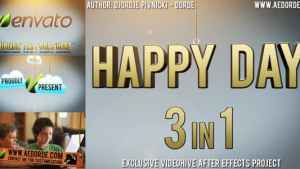 Happy Day - 3in1
