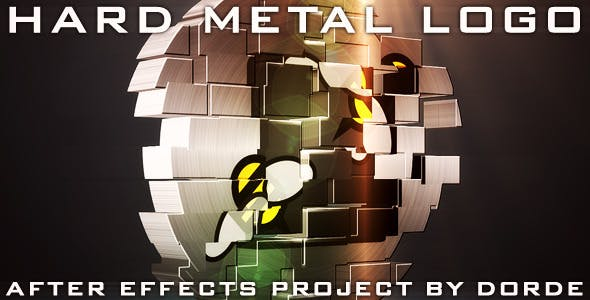 Download Hard Metal Logo – FREE Videohive