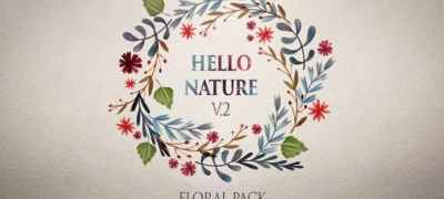 Hello Nature — Floral Pack v2