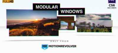 Modular Windows Slideshow Presentation