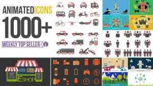 Animated Icons 1000+