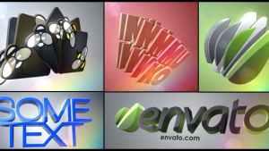 3D Logo Layers