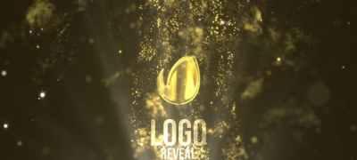 Fluid Gold Logo Reveal