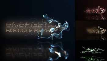 After Effects Projects | Download Particle Space Logo - FREE