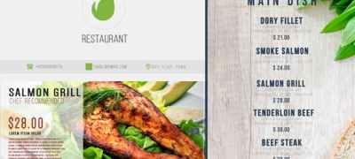 Restaurant Digital Food Menu