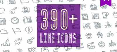 Line Icons Pack 390 Animated Icons