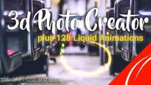 3d Photo Creator With Liquid FX Animations