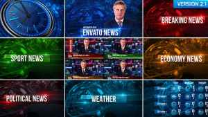 Broadcast Design News Package