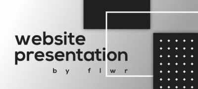 Flat Website Presentation