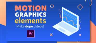 Motion Graphics Elements Pack | MOGRT for Premiere Pro