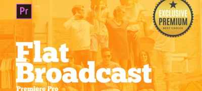 Broadcast Pack Flat for Premiere Pro