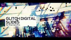 Glitch Digital Slides for Premiere Pro