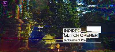 Glitch Modern Opener for Premiere Pro