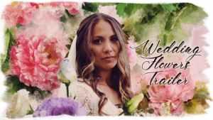 Wedding Flowers Trailer