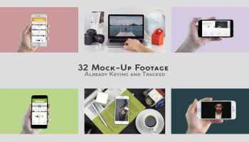 After Effects Projects | Download iMock-Up Real Footage Vol