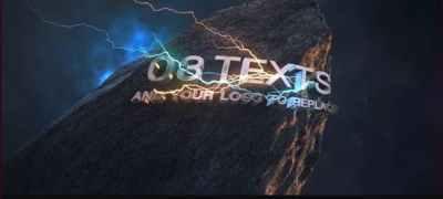 Energy Intro Logo - Element 3D