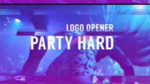 Party Hard - Glitch Logo Opener