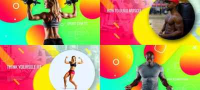 Sporty Club - Fitness Promotion