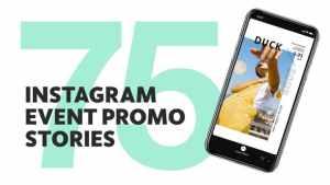75 Insta Event Promo Stories