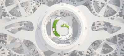 White Gears Logo