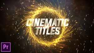Cinematic Trailer Titles - Premiere Pro