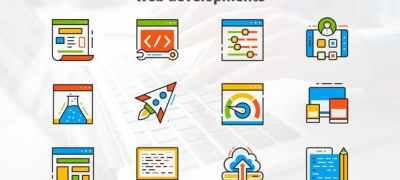 Web Development - Flat Animated Icons