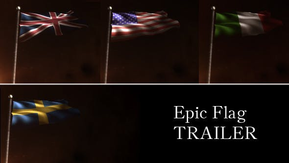 Download Epic Flag Trailer – FREE Videohive